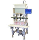 Máquina de etiquetado semiautomática de la máquina de rellenar de la cápsula para la línea de embalaje