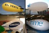 Pubblicità dell'aerostato gonfiabile dell'elio del piccolo dirigibile dell'elio di prezzi dell'aerostato con gas
