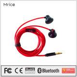 Auricular estéreo de alta fidelidad atado con alambre 3.5m m vendedor caliente del auricular móvil del receptor de cabeza