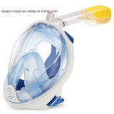 Volle Gesichtsmaske mit Cer RoHS FDA Bescheinigungsnorkel-Tauchens-Antinebel