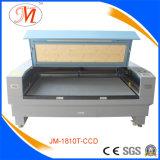 De Scherpe Machine van de Laser van Co2 van het gemakkelijk-handvat met het Plaatsen van Camera (JM-1810t-CCD)
