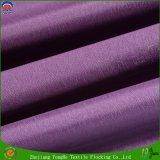 Tissu de flocage imperméable à l'eau de rideau en arrêt total de textile en guichet de rideau de polyester à la maison de tissu