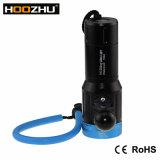 L'immersione subacquea video 2600lumens massimo chiaro di Hoozhu V13 impermeabilizza 120m