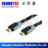 Câble et connecteurs de HDMI programmant le câble