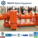Guindeau hydraulique électrique marin de bateau d'Eqipment d'approvisionnement