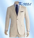 Vestiti di mutanda casuali di tela beige del cappotto per gli uomini