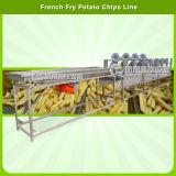 Vegetal automatización y lavadora de frutas corte Peeling Con un peso de embalaje Línea de Producción