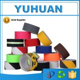 Buena cinta anti barato colorida del apretón del resbalón de la calidad