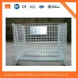Клетки хранения цинка поверхностные стальные с колесами, Lockable клеткой к Узбекистан