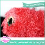 Fios de Algodão Cones cores fio de poliéster de luxo para Knitting