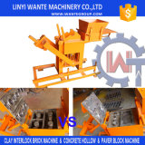 Máquina comprimida manual de Legobrick da terra Wt2-40