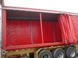 tissu de bâche de protection de PVC 0.55mmt pour la couverture de camion