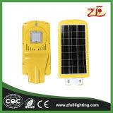 a luz de rua solar do diodo emissor de luz da luz de rua 20W com Ce RoHS aprovou