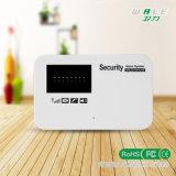 English Voice-Anti Theft pour opérer une alarme GSM sans fil intelligente GSM