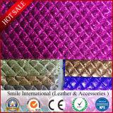 Кожа PVC быстрой поставки продукции синтетическая для мешков