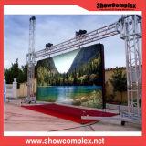 Vídeo vívido da cor cheia HD da tela da imagem que anuncia a tela ao ar livre do diodo emissor de luz P8