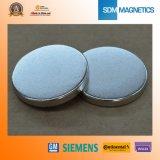 Magneet van het Neodymium van de Schijf van het Gewicht van ISO Ts16949 de Lage voor Sensor
