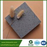 Brame grise de pierre de quartz d'étincelle pour la partie supérieure du comptoir