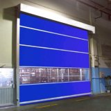 Промышленная высокоскоростная дверь штарки ролика с PVC (Hz-H002)