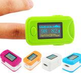 Promoción de SpO2 Pr Monitor Dedo de la mano Dedo Oxímetro de pulso Oximetría Saturación de oxígeno-Fanny