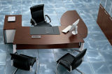 Director Executive Manager Office Desk with Round Coffee Table (HX - N00061)