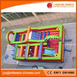 2017 Indoor Playground Toys Obstacle gonflable Bouncer Obstacle (T8-501)