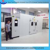 Chambre de plain-pied d'humidité modulaire de la température d'acier inoxydable pour le test de fiabilité