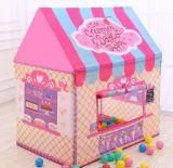 Het Stuk speelgoed van de Tent van de Prinses van het Spel van het Huis van jonge geitjes