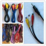 RCA Kabel, AV Kabel, Stop 3 RCA aan de Kabel van Stop 3 RCA