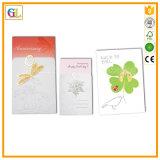Impressão do jogo de cartão do presente do Natal, impressão do cartão
