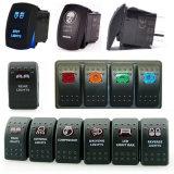 Selbst-LED-Voltmeter-Wippenschalter mit USB-Energien-Aufladeeinheits-Stecker