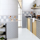 Baldosa cerámica esmaltada inyección de tinta del material de construcción para la pared de la cocina