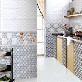 Baldosa cerámica esmaltada inyección de tinta para la pared de la cocina