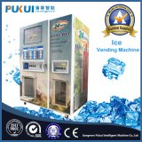 Populares de autoservicio automática de agua y máquina de hielo de la máquina expendedora