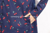 Jean-Frauen `S gedrucktes langes Hemd