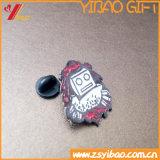 高品質のカスタムロゴの記念品(YB-HR-51)のかわいいロボットバッジ