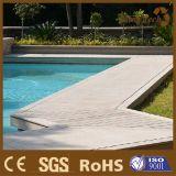 Revestimento de madeira sintético do Decking para a aplicação da piscina