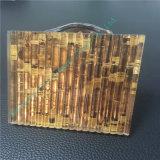 실크에 의하여 인쇄되는 유리 또는 샌드위치 유리 부드럽게 한 박판으로 만들어진 또는 박판으로 만들어진 플로트 유리