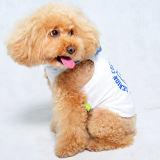 Roupa 100% do animal de estimação do Tshirt do cão do algodão