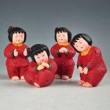 중국 꿈 아기 1을%s 꿈 인형 Handmade 기술 장신구 선물 찰흙 찰흙 세라믹 인형