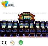モニタおよび押しボタンが付いている新しい大当たりのケニヤの賭博のキャビネットのボーナススロットマシン