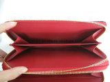 Doppelte Reißverschluss-Dame Wallet, Form-Krokodil-Korn PU-Mappe