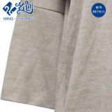 Chemisier mou de dames de mode de long de chemise coton desserré gris de Rond-Collier