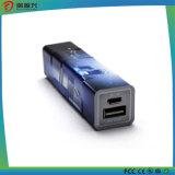 batería de la potencia del cubo 2600mAh de 2600mAh Rubik para el cargador del teléfono móvil