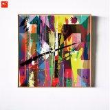 Pintura al óleo abstracta colorida de la impresión de la lona para la decoración