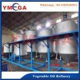 Tipo de lote 10t / D Sementes de vegetais Crude Camellia Oil Refinery Plant