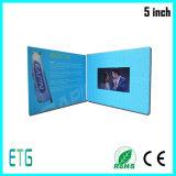 LCD van 5.0 Duim Kaart van de Groet van het Scherm de Video met Aangepaste Druk