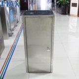 屑のリサイクルのための最大ステンレス鋼の単一の大箱のゴミ箱