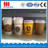 Taza de café, taza de papel disponible, taza caliente de la bebida