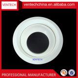 Ventilations-Aluminium-justierbarer runder Strahlen-Diffuser- (Zerstäuber)augapfel-Typ